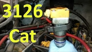 The Cat 3126 Engine.  Know Your Engine.  Caterpillar 3126B and 3126E.
