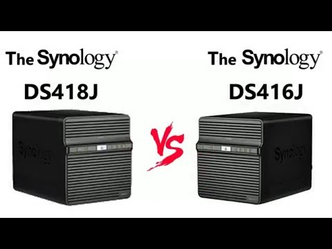 The Synology DS418J NAS versus the Synology DS416J NAS – 4 Bay Budget Comparison