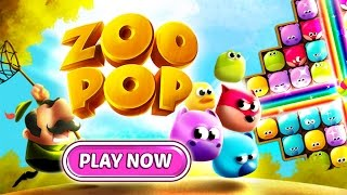 Zoo Pop - OUT NOW from Miniclip!