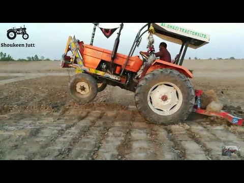 Wheeling Of Fiat 480 Ghazzi Tractor With Paltavein Hull On Hard Land