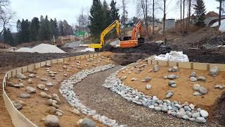 видео строительство водоемов