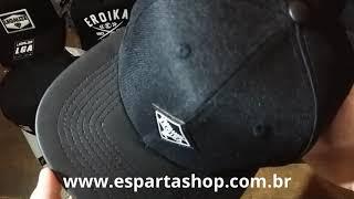 Boné Aba Reta Preto Strapback Eroika - 1953 ... fb596236f1f