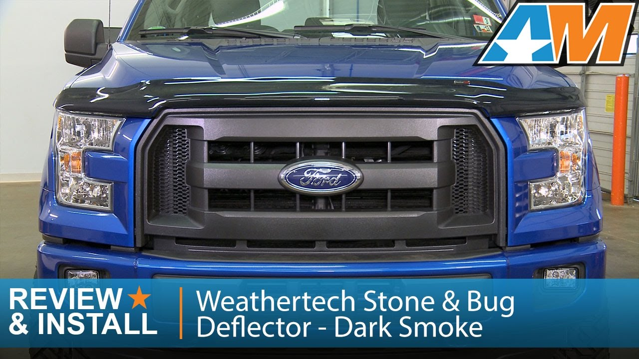 WeatherTech Low Profile Hood Protector for Ford F-150-2004-2008