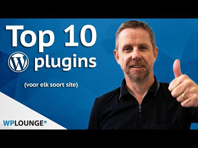 Top 10 gratis plugins voor WordPress! | 2020