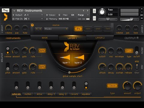 REV First Look Reverse Sample Library Instruments, Loops & More 4 Native Instruments Kontakt