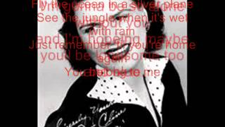 Patsy Cline You belong to me Lyrics