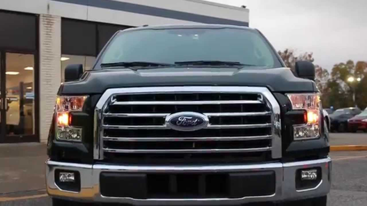 All new 2015 f150 xlt up close youtube