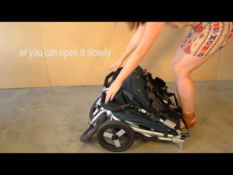 How-To: Unfold and Fold 2015 Bumbleride Indie Twin Stroller