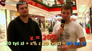 Zadania matematyczne z ekonomii