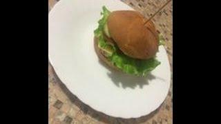 Как приготовить дома (в домашних условиях) базовый бургер (чизбургер)