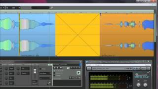 Samplitude Pro X: The Object Editor Part 3 - Pre & Post-fade FX