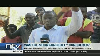 President Uhuru's Sagana was all about DP Ruto and BBI, MP Ndindi Nyoro claims