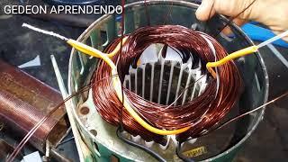 LIGANDO AS BOBINAS MOTOR BIFASICO 1