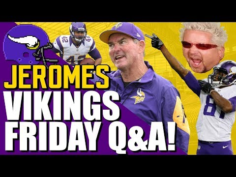 Jeromes Vikings Friday Q&A! [02.21.2020]