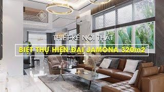 Thiết kế nội thất BIỆT THỰ HIỆN ĐẠI JAMONA 320m2 | VUÔNG TRÒN DECOR | VUÔNG TRÒN DESIGN INTERIOR capture youtube