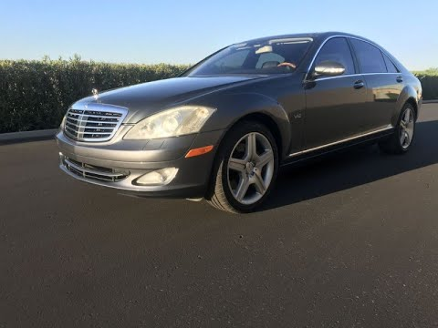 2007 Mercedes-Benz S600 Twin Turbo S-Class MSRP is $139,900 ! 4dr Sdn 5.5L V12 RWD (Tempe, Arizona)