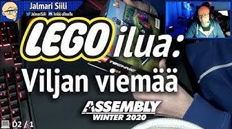 Assembly Winter 2020 - Jalla palikoi: LEGO Technic 42102 Mini CLAAS XERION