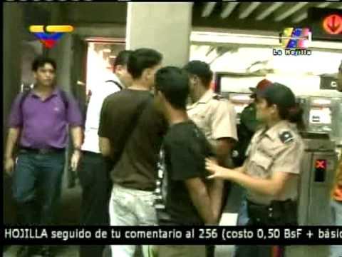13-11-2010 Metro de Caracas - Est. Propatria - Protesta/Rebelión