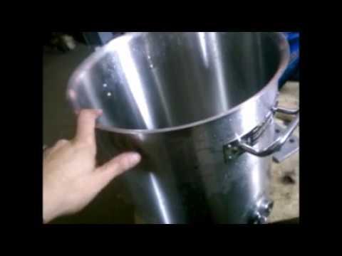 Самогонный аппарат из кастрюли luxstahl купить автоклав стерилизатор домашний погребок 2 в 1