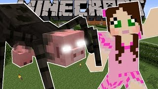 Minecraft: MUTANT SPIDER! (THE BEAST IS HERE!) Mod Showcase