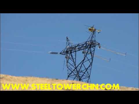 500 KV lattice angle tower design and test Construction