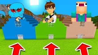 Minecraft PE : DO NOT CHOOSE THE WRONG HOUSE! (Gumball.exe, Ben 10 & Aswdfzxc)