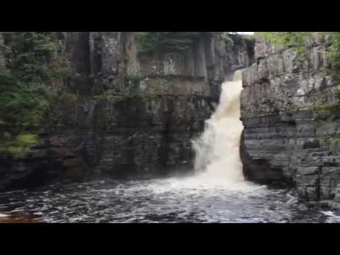 High Force Waterfall in Teesdale, England