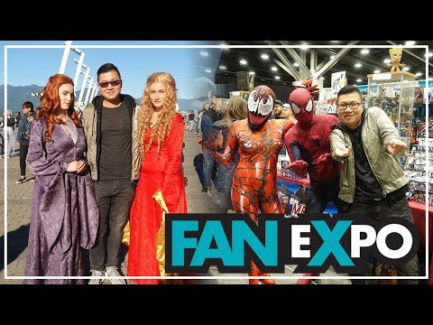 COSPLAY at FAN EXPO 2018 Highlights + Recap