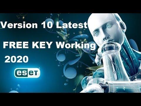 Nod32 2020 Key >> Eset nod32 Antivirus10 0 free Serial key 01 04 2020 - YouTube
