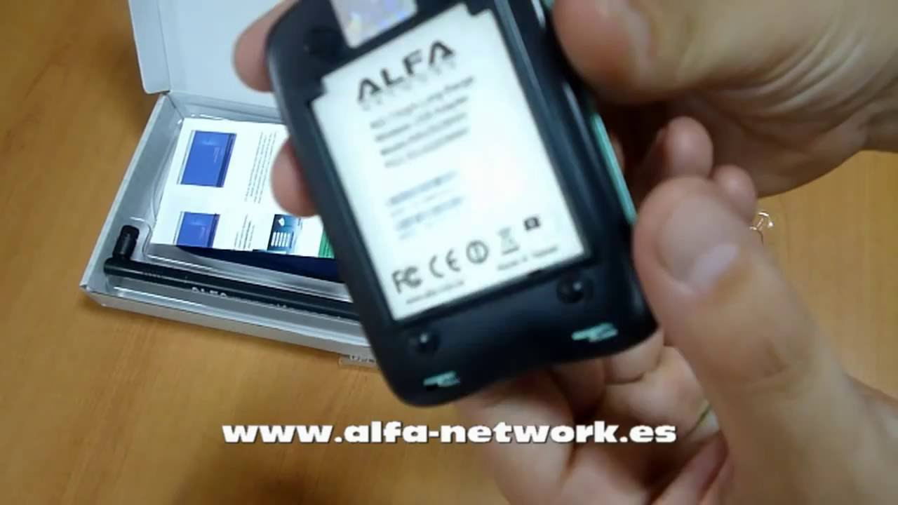 🔻🔻Antena WiFi🔻 🔻Alfa Network Luxury AWUS036NH RALINK RT3070🔻  Original!🔻 USB🔻 Genuina ALFA🔻