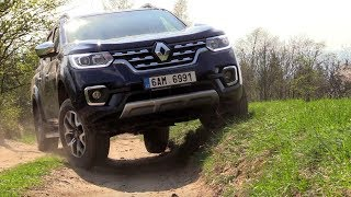 New Renault Alaskan 2,3 dCi 4x4 | Off-road test in real situations