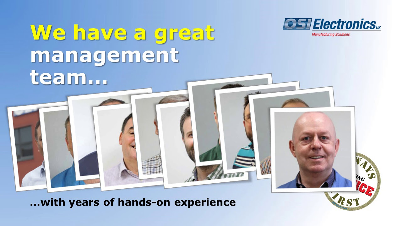 OSI Electronics UK | End-to-end customizable electronic
