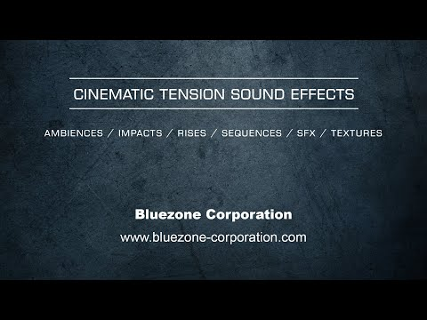 Cinematic Tension Sound Effects - Trailer Sound Library