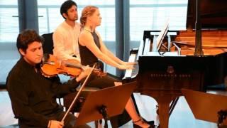 Brahms Piano Trio No. 1 Op. 8 en Si mayor