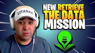 NOT WHAT I EXPECTED! Retrieve the Data New Mission | Fortnite Save the World | Patch 6.10 Beta