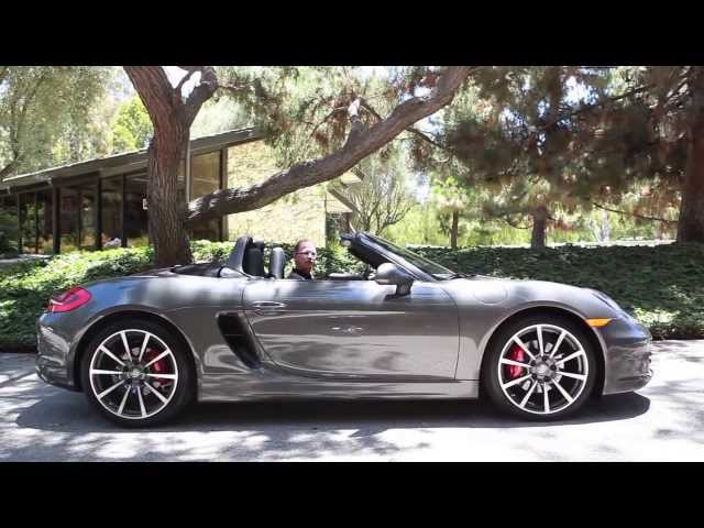 2013 Porsche Boxster Test Drive @ Pacific Porsche