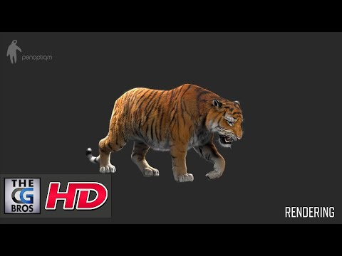 "CGI VFX Breakdowns : ""Making of Tiger for Lilyhammer""  - by Panoptiqm 