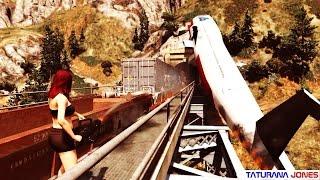 GTA 5 - Hoje eu vou destruir o trem - Parte 2