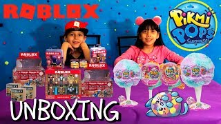 CRAZY RARE ROBLOX + PIKMI POPS MYSTERY SURPRISE TOYS UNBOXING