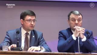 """Энергетические проблемы и заявление """"Оппоблока""""  сессия горсовета Мариуполя"""