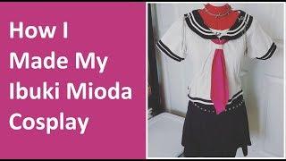 Cosplay Rewind: How I Made My Ibuki Mioda Cosplay