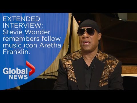 Stevie Wonder remembers Aretha Franklin