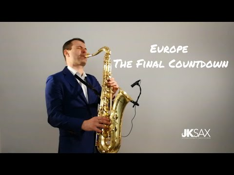 Europe - The Final Countdown - Saxophone Cover by JK Sax Juozas Kuraitis