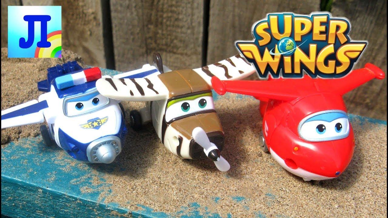 Обзор игрушек Super Wings. Cупер крылья. Самолёты. Джет и его .