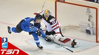Projected #2 Overall Pick Kaapo Kakko Scores Beautiful Breakaway Goal Against Canada