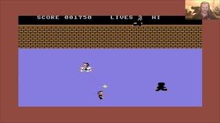 Lukozer Retro Game Review 481 - Enter The Ninja - Commodore 64