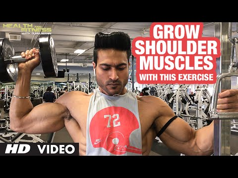 GROW Shoulder Muscles With This Exercise | Guru Mann | Health & Fitness