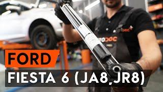Ford Fiesta Mk5 remonto instrukcijos entuziastams