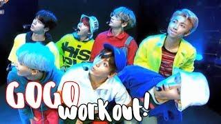 figcaption BTS _ GOGO (고민보다 Go) Kpop Dance Workout
