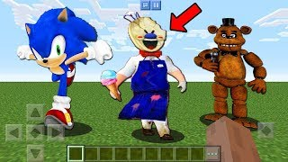 Hello Neighbor Mod TOY STORY 4 FORKY CHOOSE WRONG SONIC ICE SCREAM FREDDY SECRET BASE SONG minecraft